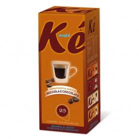 Aromatizzato Kè Nocciola e Cioccolato Cialde in Carta 44mm Monodose pz.25