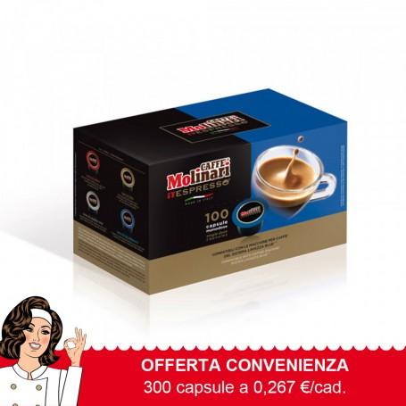 Capsule Q.tà Oro Compatibili Lavazza Blue®* - pz. 300 - 0,267 €/caps.