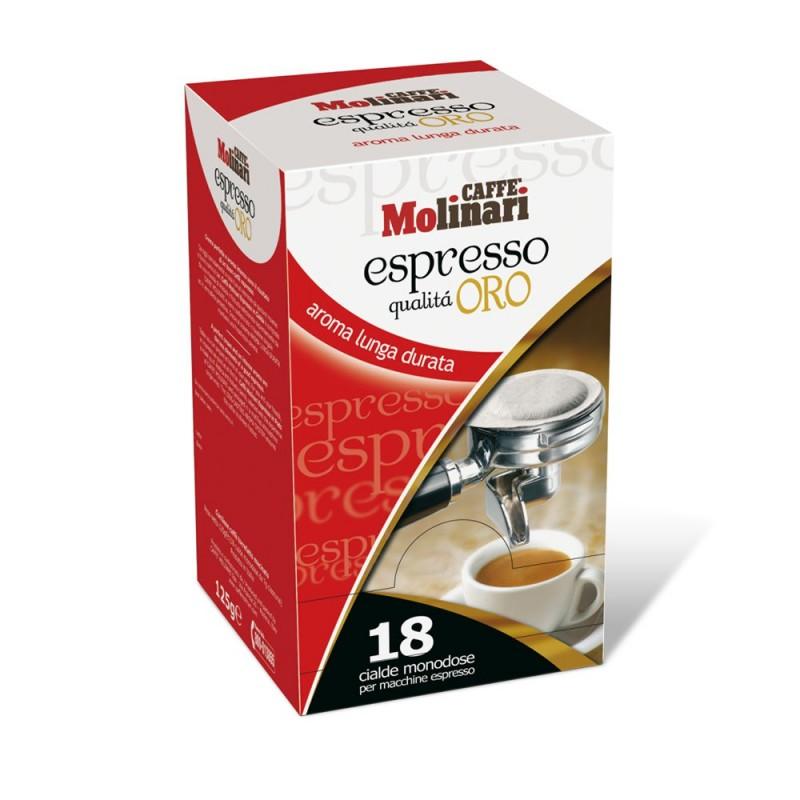 Caffè Espresso Qualità Oro Cialde in Carta 44 mm Monodose - pz. 18