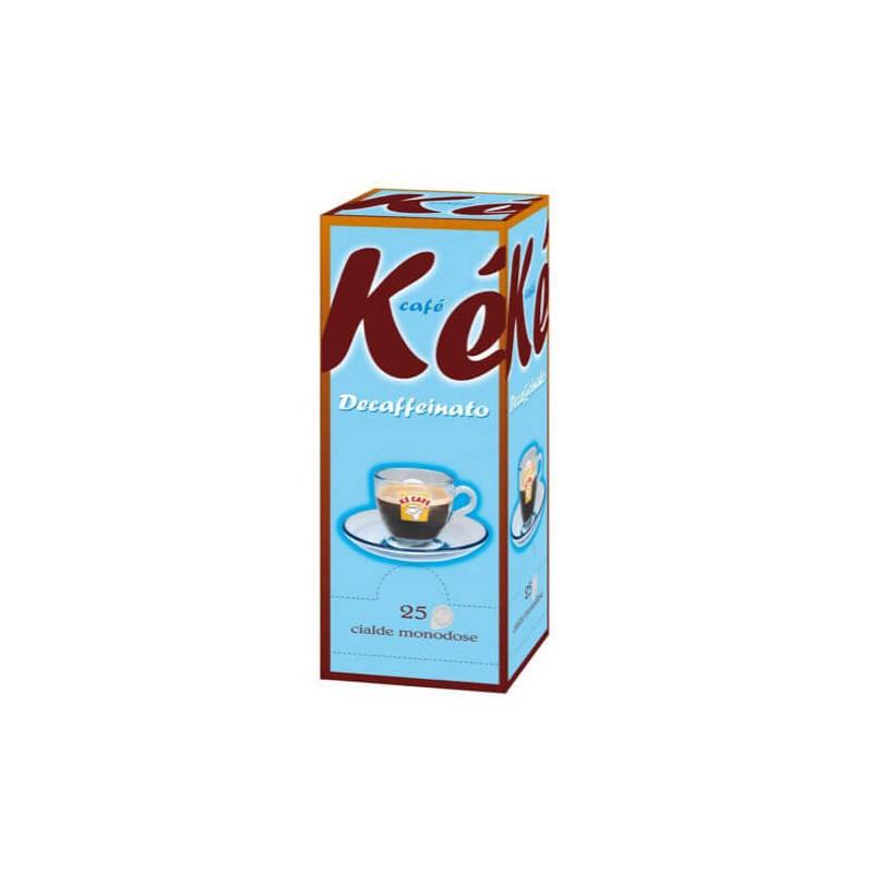Cialde caffè Kè Decaffeinato - 25 cilade 44 mm