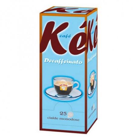 Cialde caffè Kè Rubino - 25 cilade 44 mm