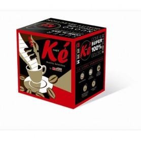 Cialde caffè Kè Rubino - 150 cilade 44 mm
