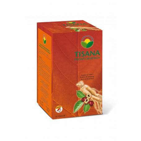 PRONTO ENERGY con Ginseng, Guarana' e Frutta (confezione 25 cialde monodose)