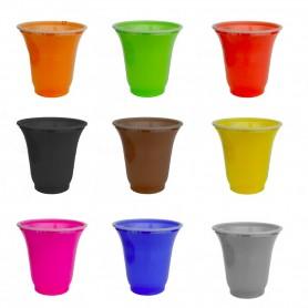 Bicchierini caffè colorati  - 50pz