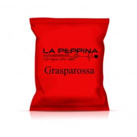 Capsule compatibili Lavazza Espresso Point* - La peppina - Grasparossa - pz 100