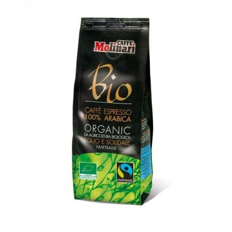 Caffe' Bio Equo-Solidale Macinato 250g - miscela di arabica 100%  BIO e EQUO-SOLIDALE