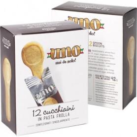 Cucchiaini di pastafrolla UNO - 12 pz