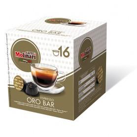 Capsule compatibili Dolce Gusto®* Espresso Oro Bar - pz. 16