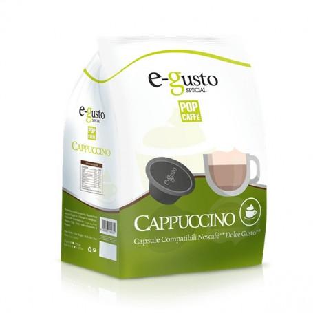 Capsule compatibili Dolce Gusto* - Cappuccino - 16 pz
