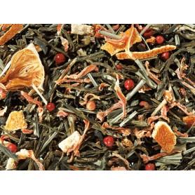 Tè Verde/Nero Bacio dei Carabi - Pompelmo e Pepe