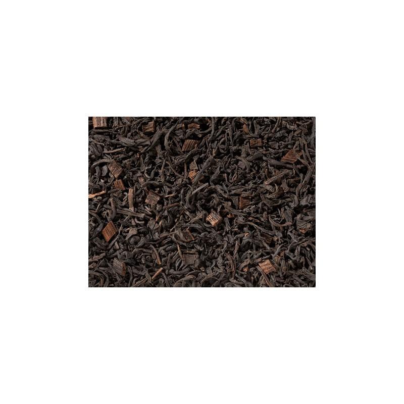 Tè Nero con Pezzetti di Vaniglia