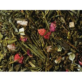 Miscela di tè verde/bianco Premium Bacio degli Angeli - Maracuja