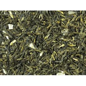 Miscela di Tè verde Sencha Pina Colada - Cocco e Ananas