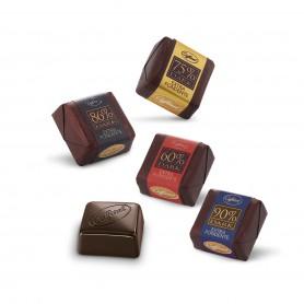 Cioccolatini extra fondente 60% - 75% - 86% - 90% - 100g