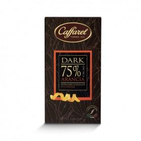 Tavoletta Extra-Fondente 75% - Arancia - 80 gr
