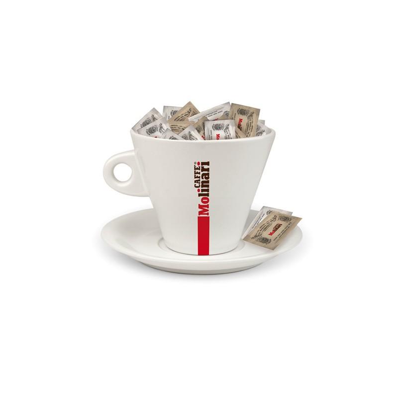 Tazzone Porta Cialde, Capsule e Zucchero Caffè Molinari