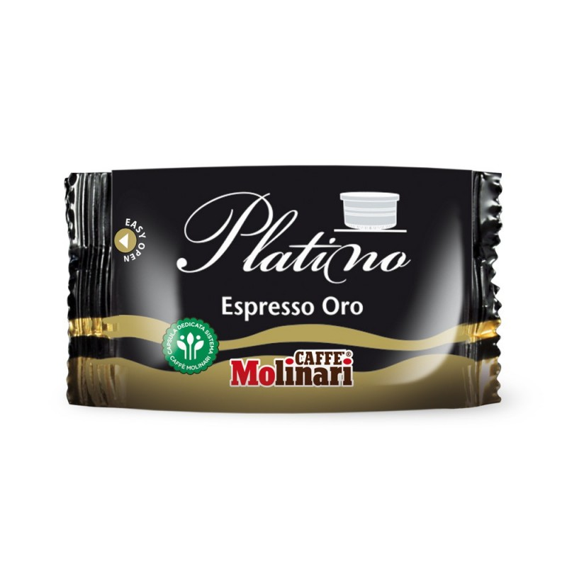 Capsule Caffè Molinari Qualità Espresso Oro - pz. 100