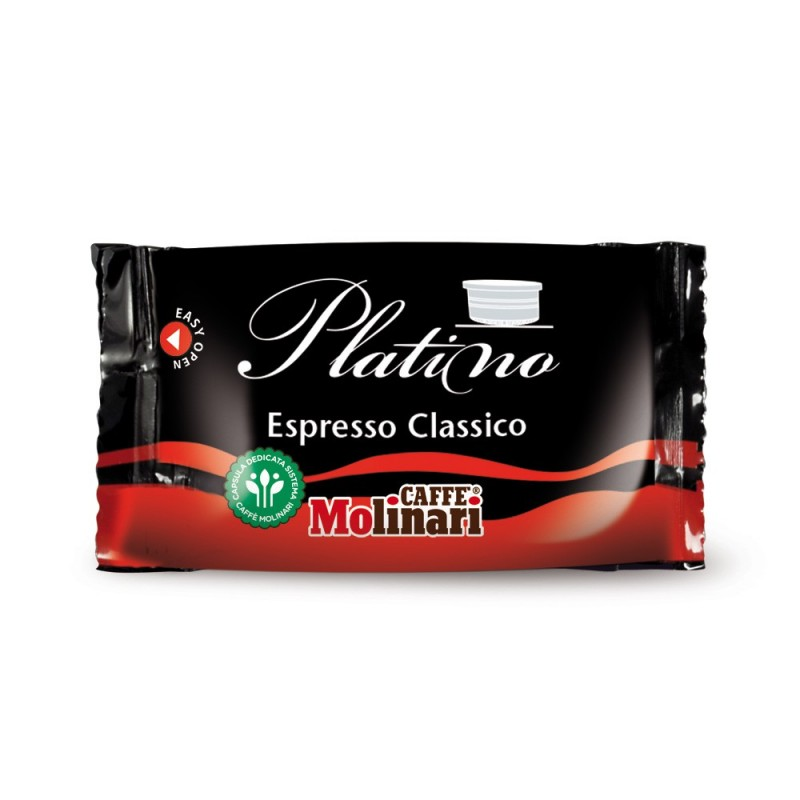 Capsule Caffè Molinari Qualità Espresso Classico - pz. 100
