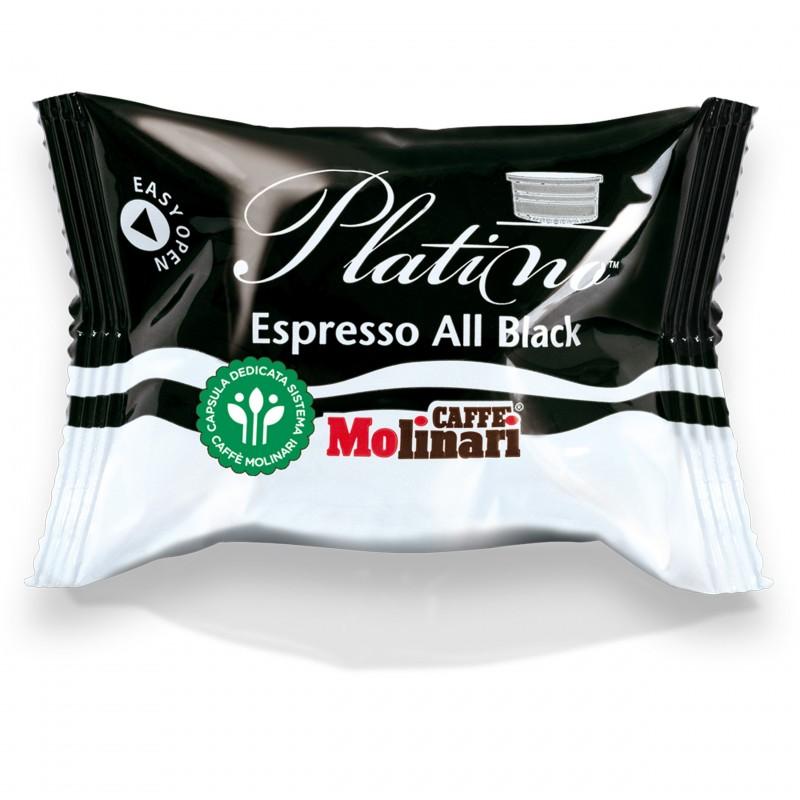Capsule Caffè Molinari Qualità All Black - pz. 100