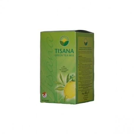 Tisana Green Tea Mix con Tè Verde Tè Nero Ceyon Rooibos - 25 Cialde Mokadose - Gli Espressi della Natura